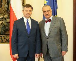 Spotkanie marszałka Sejmu z przewodniczącym komisji spraw zagranicznych Czech