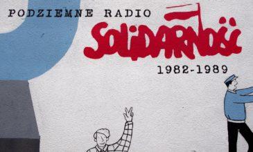 Pierwsza audycja radia Solidarność w Przemyślu