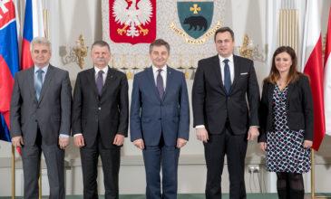 Spotkanie przewodniczących państw Grupy Wyszehradzkiej