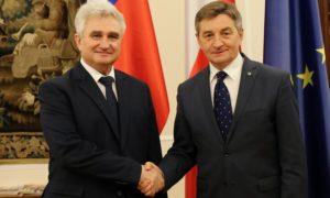 Spotkanie Marszałka Sejmu z przewodniczącym czeskiego Senatu