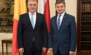 Polska i Rumunia ze wspólną wizją Europy. Spotkanie Marszałka Sejmu z przewodniczym Senatu Rumunii
