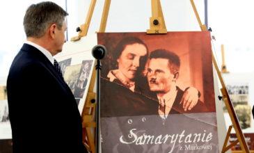 Marszałek Sejmu otworzył wystawę poświęconą rodzinie Ulmów z Markowej