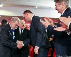 Nagroda im. Lecha Kaczyńskiego dla Andrzeja Gwiazdy