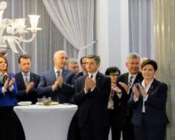 Uroczyste spotkanie z okazji nadchodzących świąt Wielkiej Nocy KP PiS w Sejmie