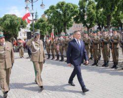 Uroczyste obchody 26-lecia powołania Straży Granicznej