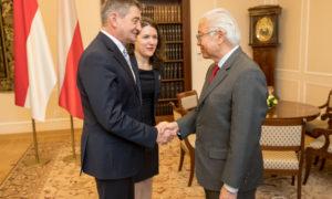 Marszałek Sejmu spotkał się z prezydentem Singapuru Tonym Tan Keng Yamem