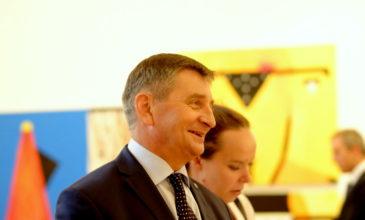 Marszałek Sejmu: Powinniśmy służyć ludziom kultury i twórcom. Visegrad4art