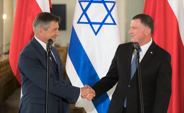 Spotkanie marszałka Sejmu z przewodniczącym Knessetu