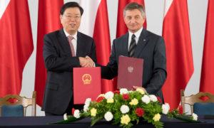 Strategiczne partnerstwo Polski i Chin. Marszałek Sejmu podpisał z Przewodniczącym OZPL memorandum o współpracy