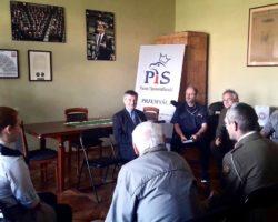 Spotkanie marszałka Sejmu z przedstawicielami ZHP Komendy Hufca Ziemi Przemyskiej im. Orląt Przemyskich