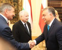 Marszałek Sejmu Marek Kuchciński spotkał się z premierem Węgier Viktorem Orbanem