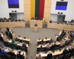 Sejm Litwy przyjął rezolucję wspierającą reformy w Polsce