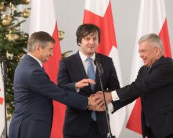 Polska i Gruzja podpisały Porozumienia o Partnerstwie Strategicznym w związku z 25. rocznicą wznowienia polsko-gruzińskich stosunków dyplomatycznych