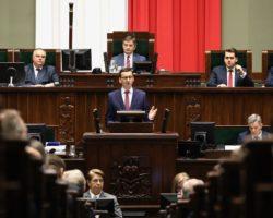 Polska liderem światowej gospodarki. Exposé premiera Mateusza Morawieckiego