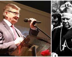 Marszałek Sejmu: Ideologie XX i XXI wieku wciąż wzywają nas do dawania świadectwa: wiary w Boga, szacunku do człowieka, odwagi i wierności dziełu naszych przodków