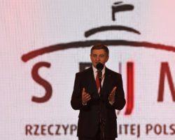Marszałek Sejmu otworzył XIII Światowe Zimowe Igrzyska Polonijne