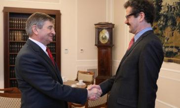Spotkanie z ambasadorem Austrii JE Wernerem Almhoferem