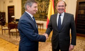 Spotkanie marszałka Sejmu z przewodniczącym Senatu Hiszpanii