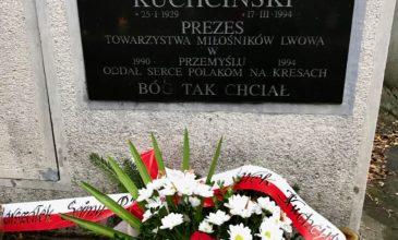 24 lata temu zmarł Zbigniew Kuchciński, prezes Towarzystwa Miłośników Lwowa