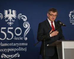 Kuchciński: Dzięki Sejmowi byliśmy i jesteśmy ludźmi wolnymi, którzy sami kształtują swój polityczny los