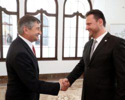 Oficjalna wizyta marszałka Sejmu w Pradze