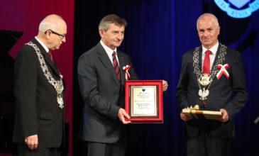 Marek Kuchciński otrzymał tytuł Honorowego Obywatela Miasta Przemyśla
