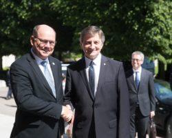 Oficjalna wizyta marszałka Sejmu w Szwecji