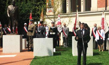W Szczecinie stanął pomnik upamiętniający prezydenta Lecha Kaczyńskiego