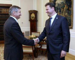 Spotkanie marszałka Sejmu z przewodniczącym Izby Poselskiej Czech