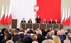 Zgromadzenie Narodowe z okazji 550 lat polskiego parlamentaryzmu