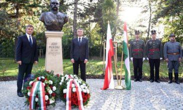 W 100-lecie odzyskania przez Polskę niepodległości Węgrzy upamiętnili marszałka Piłsudskiego