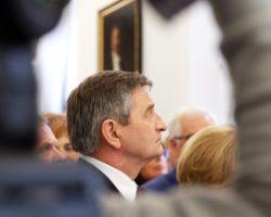 Marek Kuchciński otworzył galerię poświęconą marszałkom Sejmu II RP
