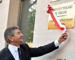 """""""Polska po stronie niepodległej i suwerennej Gruzji"""". Wizyta Marszałka Sejmu w Tbilisi"""
