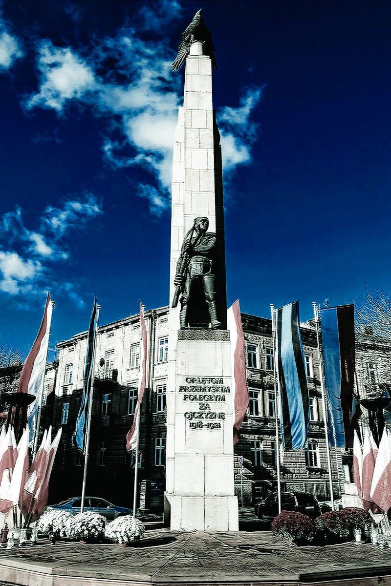 orlęta przemyskie pomnik