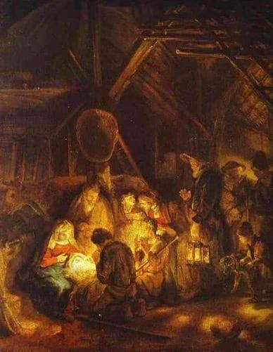 Rembrandt – Boże Narodzenie (1)