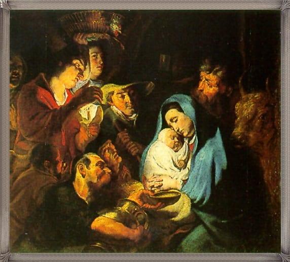Rubens, pokłon pasterzy