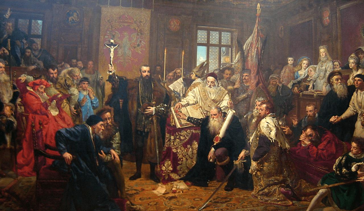 J._Matejko_unia_lubelska