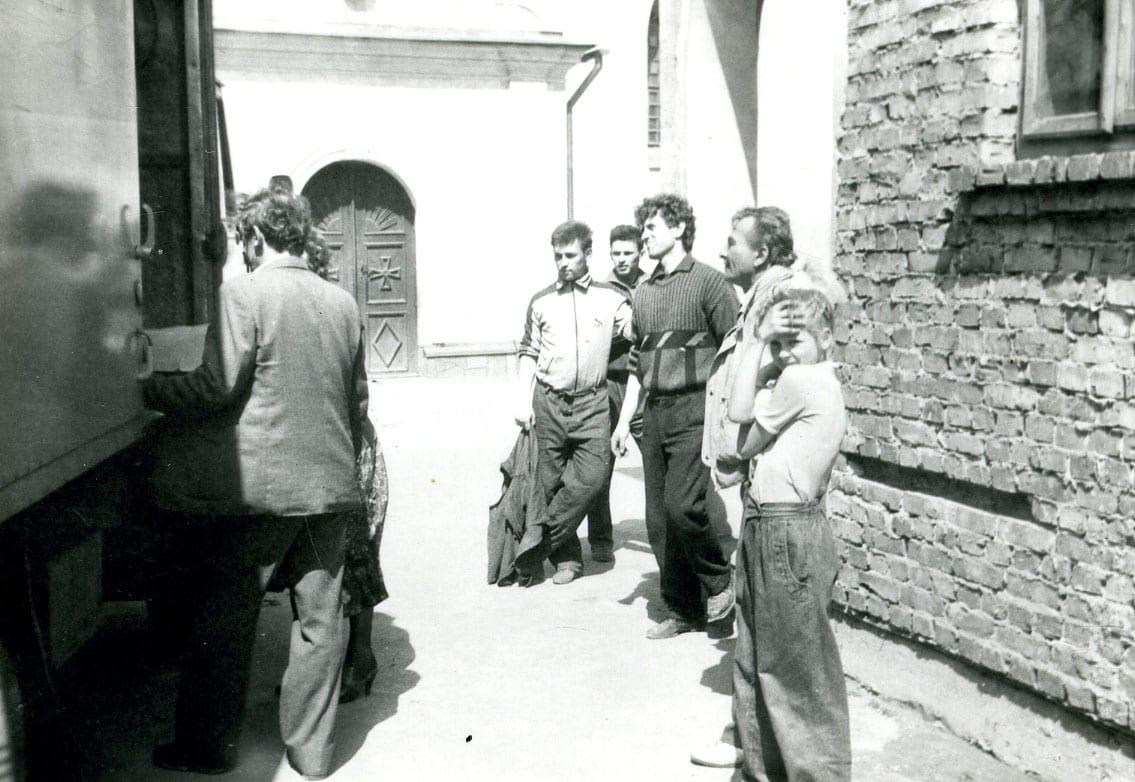 Mościska, 1990 r