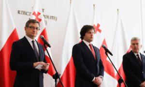 Pierwsza sesja Zgromadzenia Parlamentarnego Polski i Gruzji