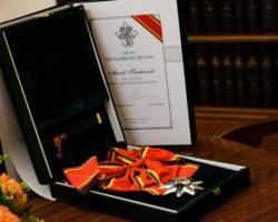 """Marszałek Sejmu odznaczony Orderem """"Za Zasługi dla Litwy"""""""