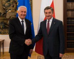 Marszałek Sejmu Marek Kuchciński spotkał się z Sekretarzem Generalnym Rady Europy