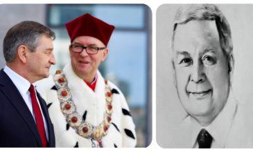 Marszałek Sejmu odsłonił tablicę ku pamięci profesora Uniwersytetu Gdańskiego – prezydenta Lacha Kaczyńskiego