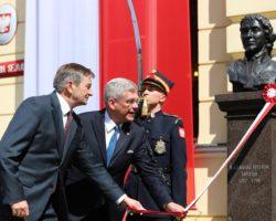 Marek Kuchciński odsłonił popiersia współtwórców Konstytucji 3 maja