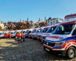 List MSMK skierowany do organizatorów i uczestników uroczystości związanej z oddaniem do użytku 11 nowo zakupionych ambulansów