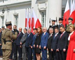 Uroczyste obchody Dnia Flagi RP z udziałem marszałka Sejmu