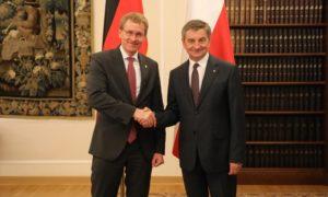 Spotkanie Marszałka Sejmu z Przewodniczącym Bundesratu Republiki Federalnej Niemiec