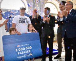 Z przywróconego z inicjatywy Marka Kuchcińskiego  połączenia kolejowego Przemyśl – Lwów – Kijów skorzystało już milion pasażerów