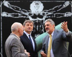 Marszałek Sejmu Marek Kuchciński otworzył  wystawę powstałą z okazji 500-lecia śmierci Leonarda da Vinci
