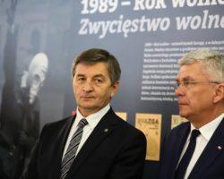 """Wystawa """"1989 – Rok Wolności Ludów – Zwycięstwo Wolnego Słowa"""""""
