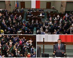 """""""Świadectwo politycznej dojrzałości"""". Sejm uchwałą uczcił 450-lecie Unii Lubelskiej"""